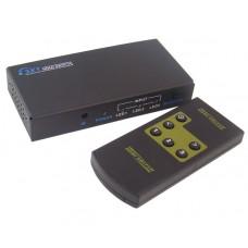 Переключатель HDMI  3 входа на 1 выход с пультом ДУ