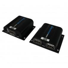 """Комплект для передачи HDMI по """"витой паре""""  до 50м с EDID и POE"""