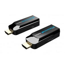 """Комплект для передачи HDMI по """"витой паре""""  на 50м в компактном корпусе"""