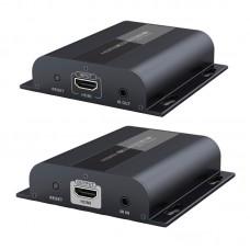 """Комплект для передачи HDMI по """"витой паре"""" и Ethernet с обратным IR каналом"""