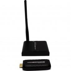 Комплект для беспроводной передачи HDMI сигнала до 30 м с обратным IR каналом с компактным передатчиком