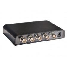 3G/HD/SD SDI разветвитель 1 вход на 4 выхода ( сплиттер 1x4 )