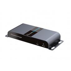"HDMI разветвитель 1 вход на 2 выхода по ""витой паре"" до 40 м( сплиттер 1x2 )"