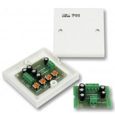 Комплект для передачи видеосигнала по кабелю «витая пара»